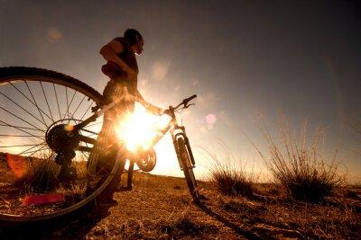 Plakat Bicicleta r al aire libre deporte.