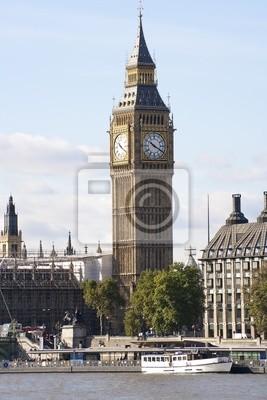 Plakat Big Ben Tower w Londynie