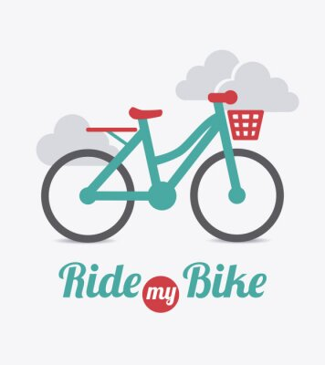 Plakat Bike design.