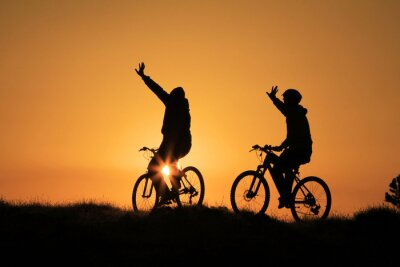 Plakat bisiklet gezisi