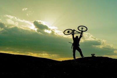 Plakat bisiklet ve Spor Yasami