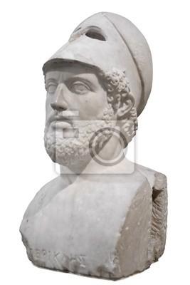 Plakat Biust greckiego Peryklesa Statesman