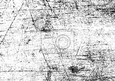 Plakat Black and white grunge. Distress overlay texture. Abstract surface dust and rough dirty wall background concept. Distress illustration simply place over object to create grunge effect . Vector EPS10.