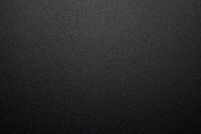 Plakat Black plastic material texture background. Close-up.