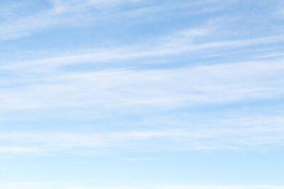 Plakat blue sky clouds