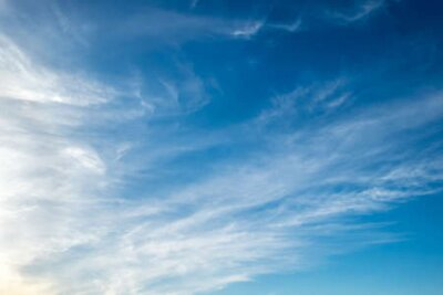 Plakat Blue sky with cloud for background