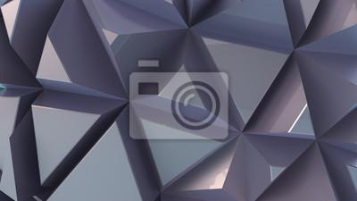 Błyszczące tła z wytłaczanych trójkątów. metalowa powierzchnia