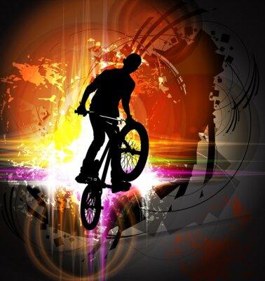 Plakat BMX rider