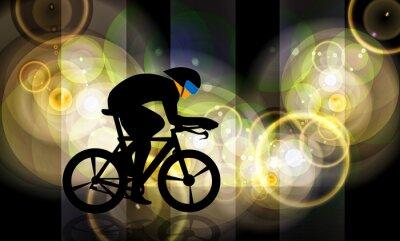 Plakat BMX rowerzysta