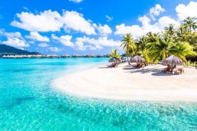 Plakat Bora Bora Island, Polinezja Francuska.