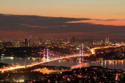 Plakat Bosphorus Bridge
