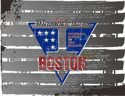 Plakat Boston