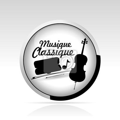 Plakat bouton Musique Classique