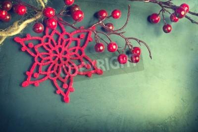 Plakat Boże Narodzenie rocznika tle. Starego stylu shabby projektowania kart