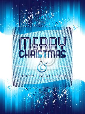 Plakat Boże Narodzenie w tle