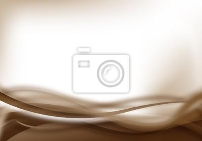 Plakat brązowe miękkie tło