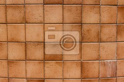 Brązowe Płytki ścienne Ceramiczne I Szczegóły Powierzchni Plakaty Redro