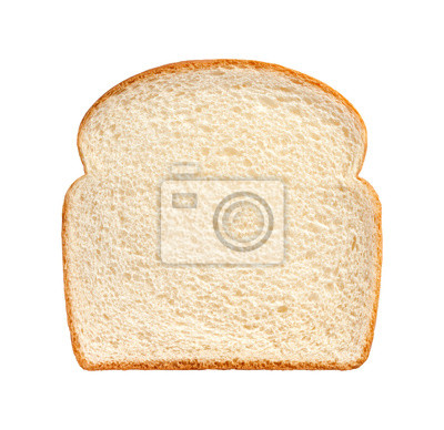 Plakat Bread Slice isolated