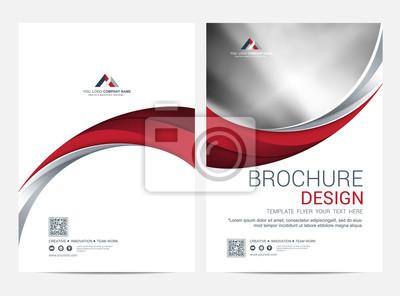 Plakat Brochure Layout template, Leaflet Flyer cover design background