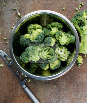 Plakat brokuły
