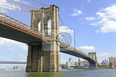 Plakat Brooklyn Bridge, Nowy Jork