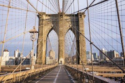 Plakat Brooklyn Bridge Wieża