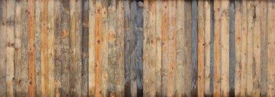 Plakat Brown drewna deski deski tekstury barwiony tło