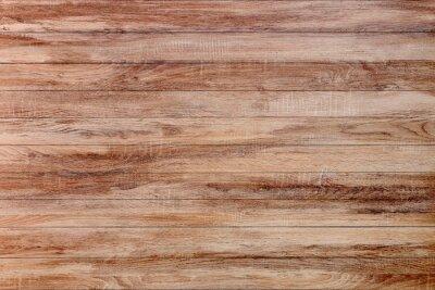 Plakat brown old wood background, dark wooden texture