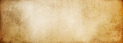 Plakat Brown paper texture, vintage background made of old paper