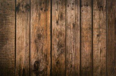 Plakat Brown wood plank texture background. hardwood floor