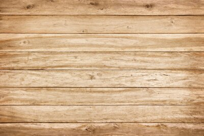 Plakat brown wood wall texture with natural patterns background