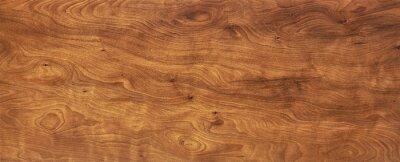 Plakat brown wood, wooden texture , dark wood background