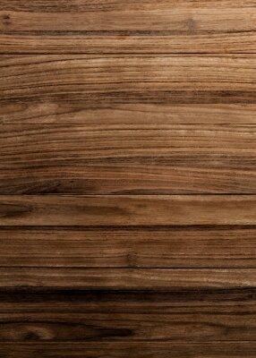 Plakat Brown wooden flooring
