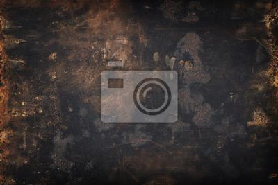 Plakat brudne grunge metalu tło lub tekstury