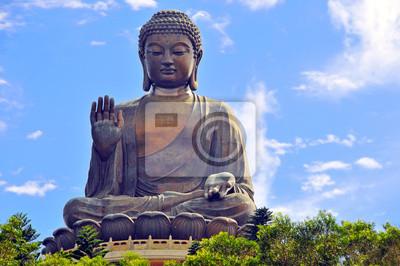 Budda Tian Tin w Hong Kongu.
