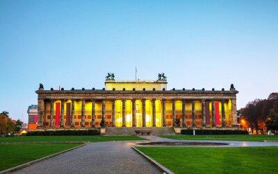 Plakat Budynek Altes Museum w Berlinie, Niemcy