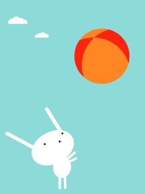Plakat Bunny gry