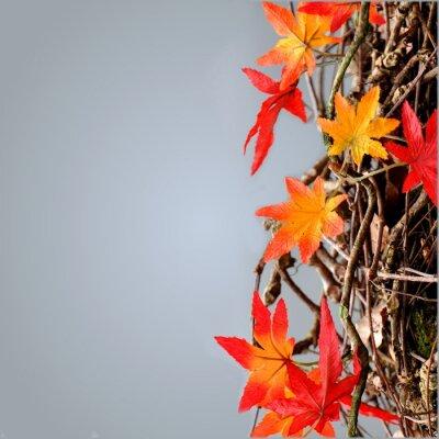 Plakat Bunte Blätter
