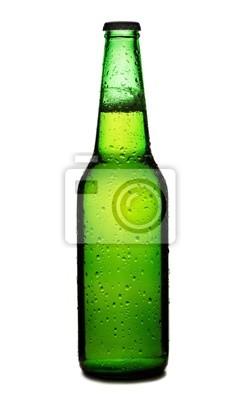 Plakat Butelka piwa samodzielnie