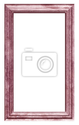 plakat cadre bois brut naturel vintage rouge na wymiar. Black Bedroom Furniture Sets. Home Design Ideas