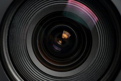 Plakat camera lens macro