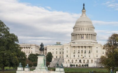 Plakat Capitolio - Waszyngton