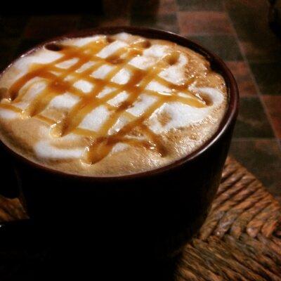 Plakat Caramel Latte
