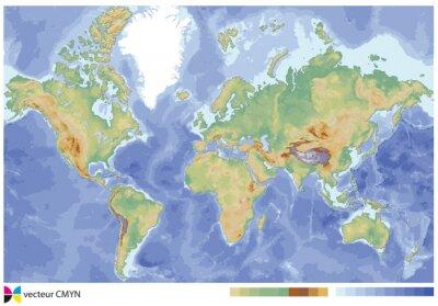 Plakat carte du monde ulga