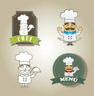 Plakat Cartoon kuchni