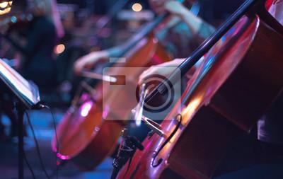 Plakat cello