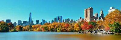 Plakat Central Park Jesień