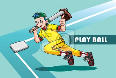 Chłopiec baseball