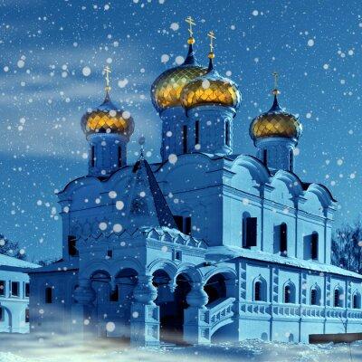 Plakat Chrześcijaństwo Kościół, Boże Narodzenie