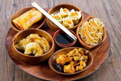 Plakat cibo cinese